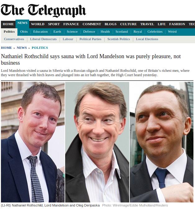 Telegraph story