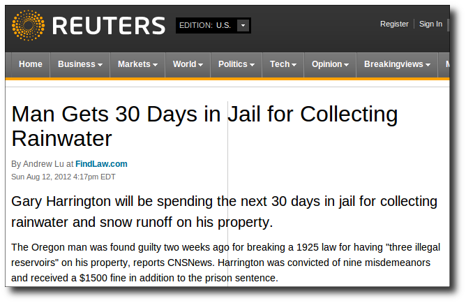 WEBPAGE-US-Jails-Man-For-Collecting-Rainwater