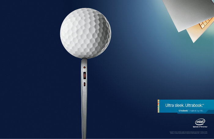 AD COPY - Intel Ultrabook ad - INE90229_Ultrabook_Ad_Golf