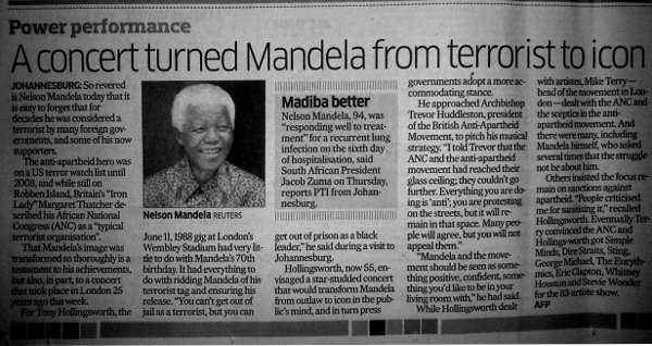 DH report on the Mandela makeover