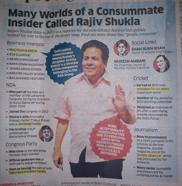 ET profile of Congress fixer
