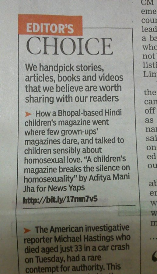 PHOTO - Talking About Homo Love To Children