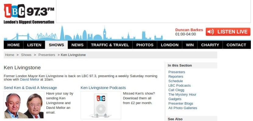 WEBPAGE - Londons Best Conversation