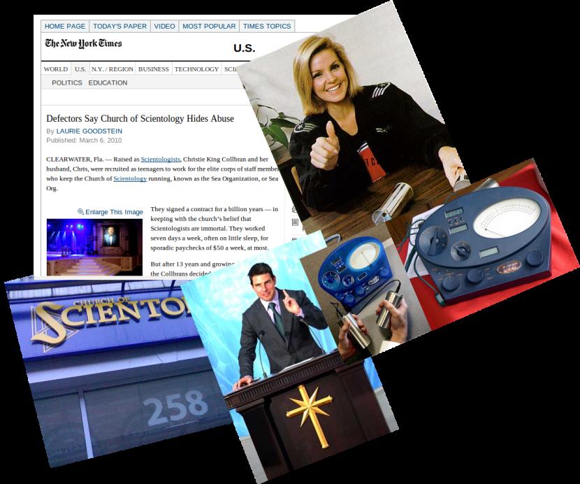 NEWSCLIP - NYT - Sceintology Defectors