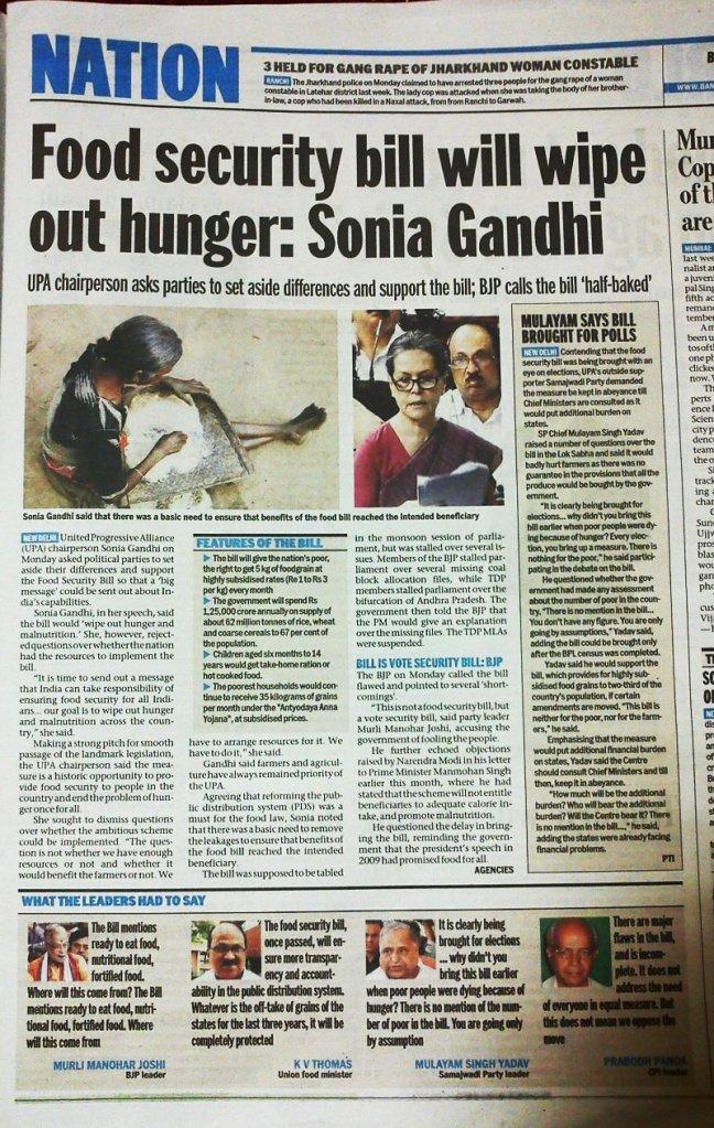 Bangalore Mirror article