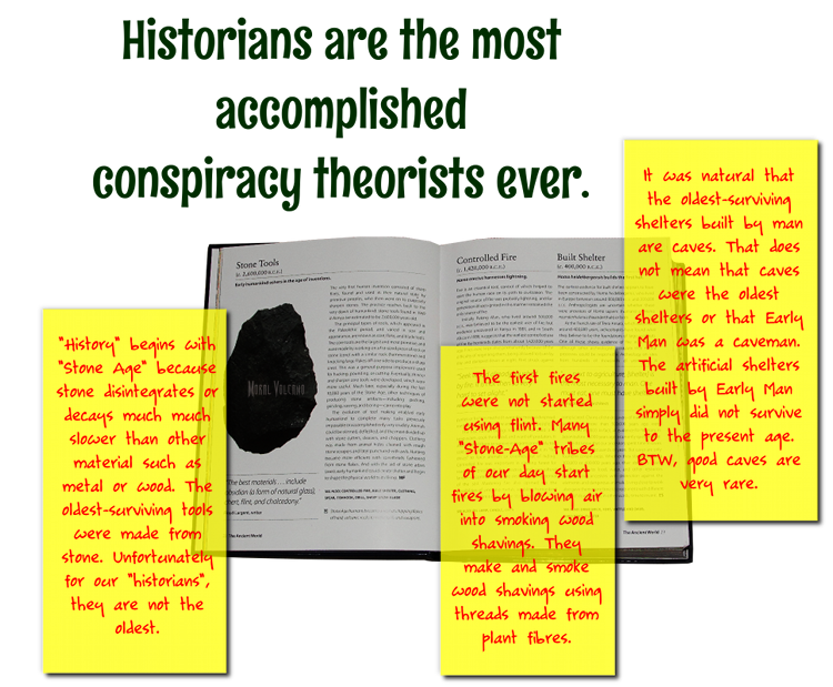 """Henry Ford is right. History is bunk. These opening pages of the book """"1001 Inventions That Changed The World Since 2,600,00 BCE"""" prove that."""