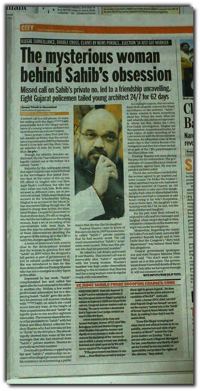 Times of India reporter digs deeper into Sahib's love affair.