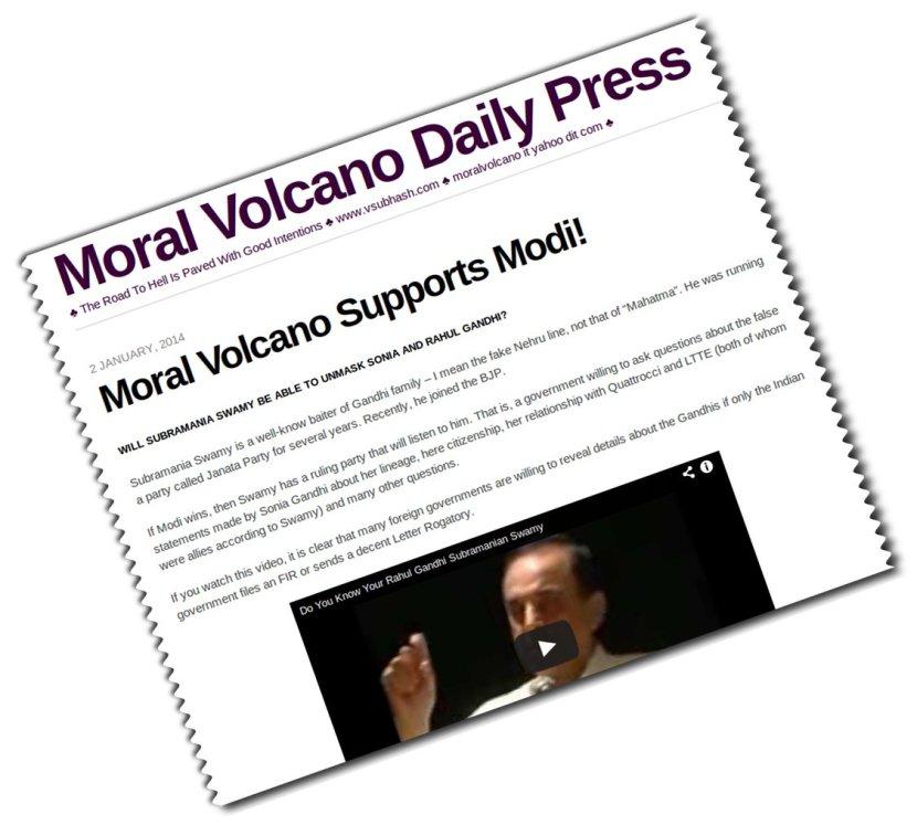 WEBPAGE-Moral-Volcano-supports-Modi