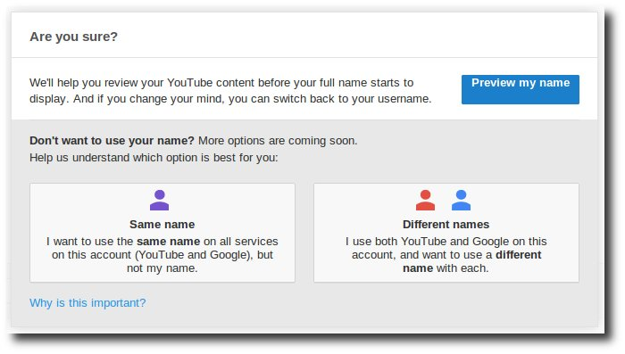 Youtube sign-in.