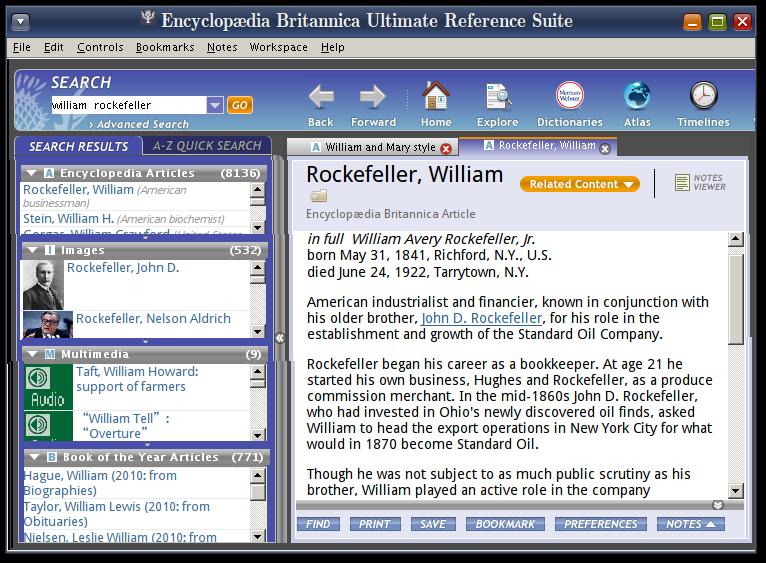 Encyclopedias reference logs.