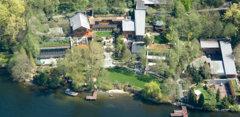 Bill Gates house was once valued at $120 million.
