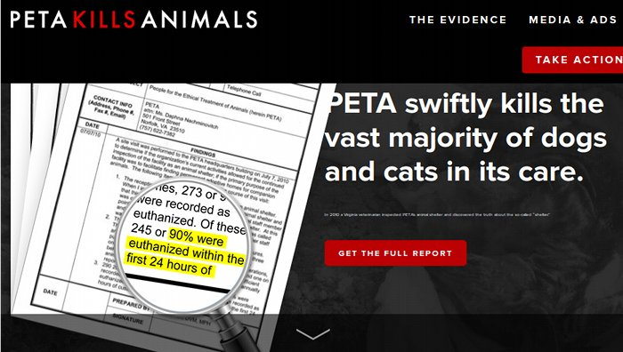 PETA-kills-animals