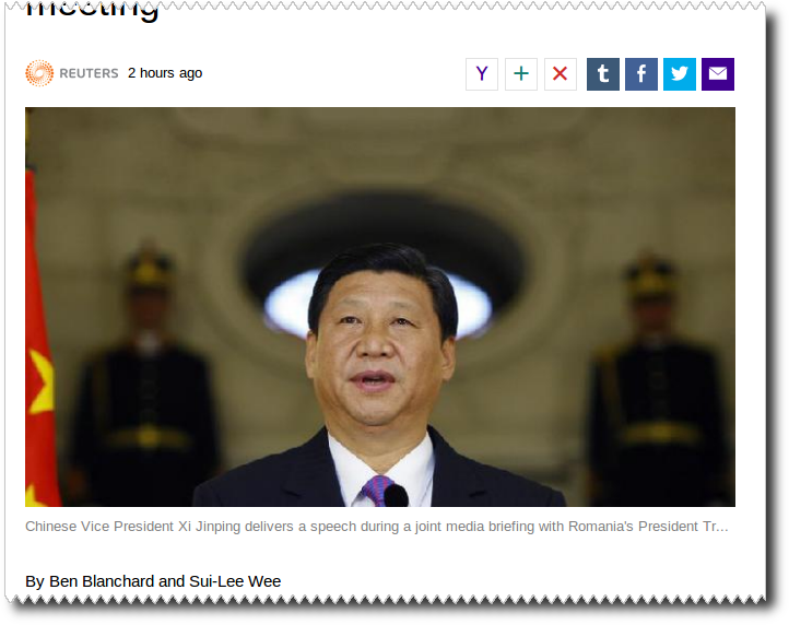 Reuters photo of Eleven Jinpeng