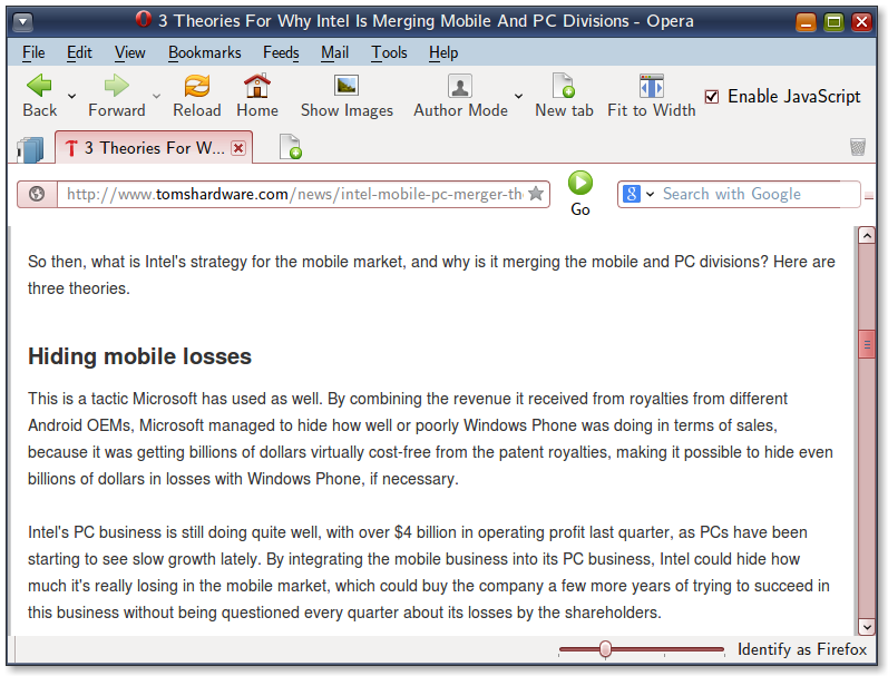 Intel's creative accounting.
