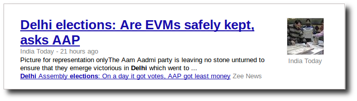 Are EVMs safe, asks AAP?