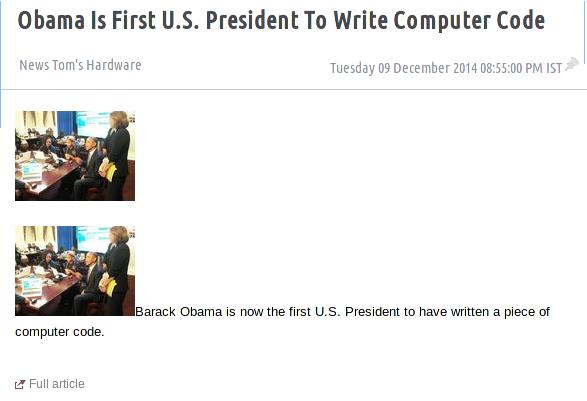 Smart Obama?