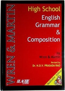 Cover of Wren and Martin's High School English Grammar & Composition