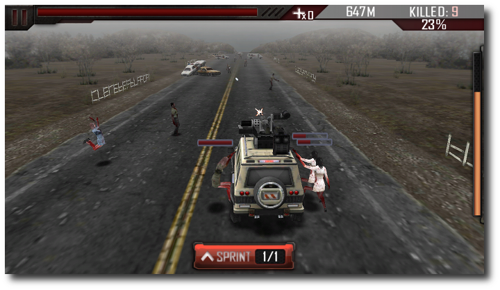Zombie Roadkill game app for Android