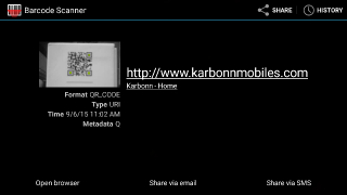 QR code app from F-Droid