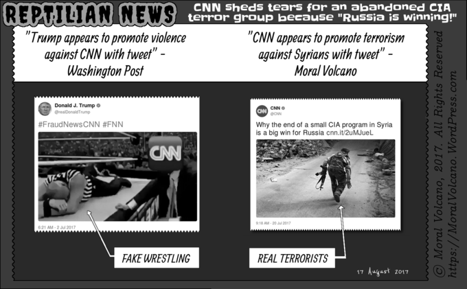Reptilian News: CNN supports terrorism when it is sponsored by CIA