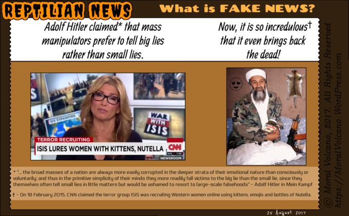 Reptilian News - CNN Fake News