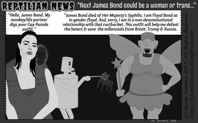 How the next James Bond is going to be a transgender