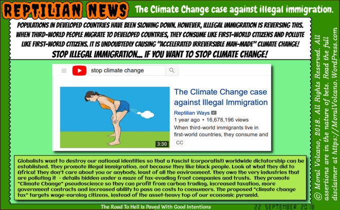 Climate Change case against illegal immigration