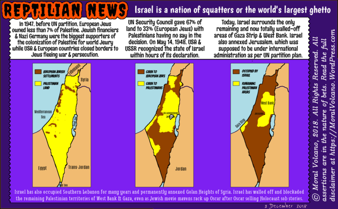 Why Israel is a nation of squatters or the world's largest ghetto