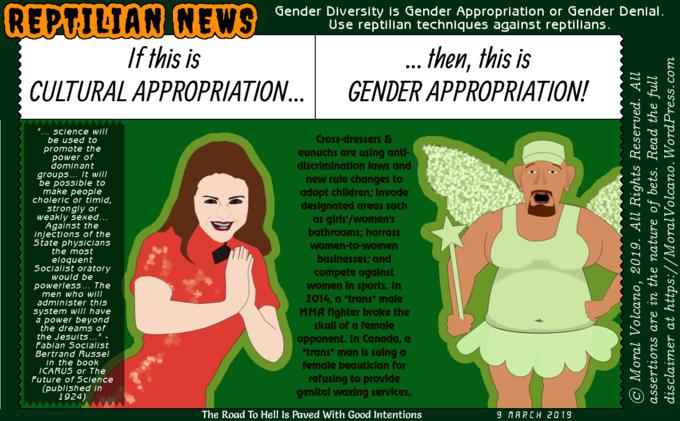 Gender diversity propaganda