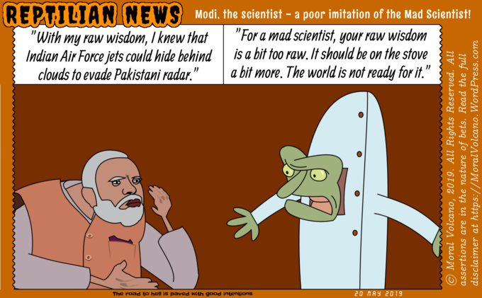 Modi, the mad scientist