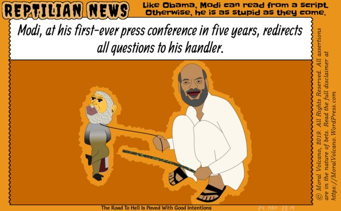 Modi and his controller