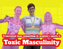 Hashtag Toxic Masculinity is trans men invading women's sports