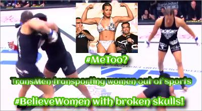 MeToo - Hashtag Believe Women with broken skuls