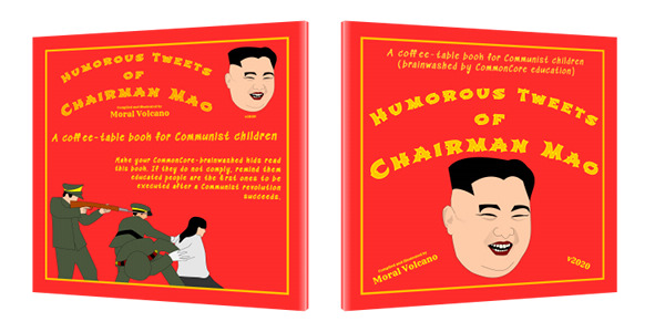 Book cover: Humorous Tweets of Chairman Mao